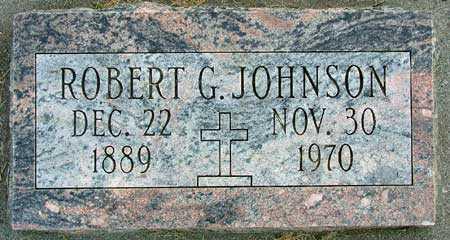 JOHNSON, ROBERT G. - Wasatch County, Utah | ROBERT G. JOHNSON - Utah Gravestone Photos