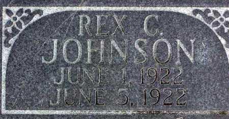 JOHNSON, REX C. - Wasatch County, Utah | REX C. JOHNSON - Utah Gravestone Photos