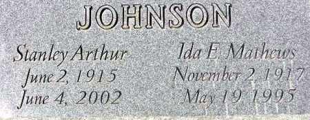 JOHNSON, IDA ELIZABETH - Wasatch County, Utah | IDA ELIZABETH JOHNSON - Utah Gravestone Photos