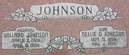 JOHNSON, NELLIE D. - Wasatch County, Utah | NELLIE D. JOHNSON - Utah Gravestone Photos