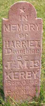 KERBY, HARRIET - Wasatch County, Utah | HARRIET KERBY - Utah Gravestone Photos