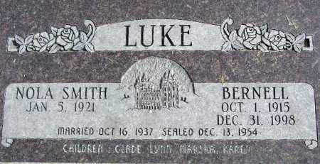 LUKE, NOLA - Wasatch County, Utah | NOLA LUKE - Utah Gravestone Photos