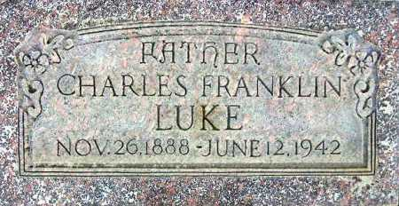LUKE, CHARLES FRANKLIN - Wasatch County, Utah | CHARLES FRANKLIN LUKE - Utah Gravestone Photos