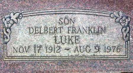 LUKE, DELBERT FRANKLIN - Wasatch County, Utah | DELBERT FRANKLIN LUKE - Utah Gravestone Photos