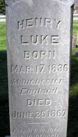 LUKE, HENRY - Wasatch County, Utah   HENRY LUKE - Utah Gravestone Photos