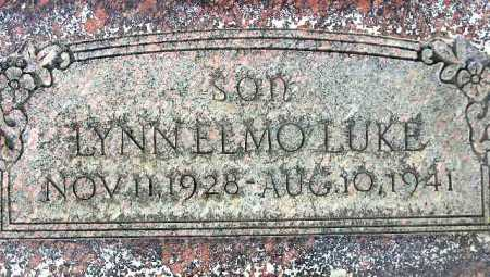 LUKE, LYNN ELMO - Wasatch County, Utah | LYNN ELMO LUKE - Utah Gravestone Photos