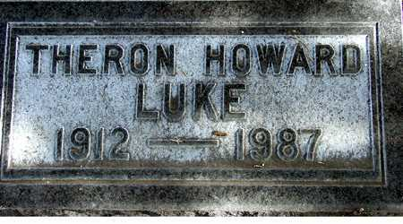 LUKE, THERON HOWARD - Wasatch County, Utah   THERON HOWARD LUKE - Utah Gravestone Photos