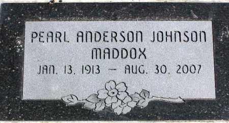 JOHNSON, PEARL - Wasatch County, Utah   PEARL JOHNSON - Utah Gravestone Photos