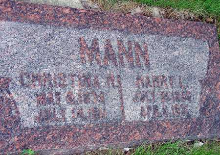 MANN, HARRY LIPPENCOTT - Wasatch County, Utah | HARRY LIPPENCOTT MANN - Utah Gravestone Photos