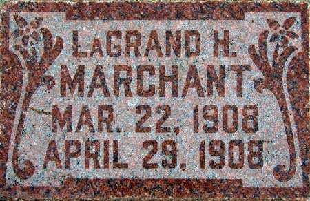 MARCHANT, LAGRAND H. - Wasatch County, Utah   LAGRAND H. MARCHANT - Utah Gravestone Photos
