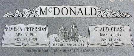 MCDONALD, ELVERA MYRTLE - Wasatch County, Utah | ELVERA MYRTLE MCDONALD - Utah Gravestone Photos