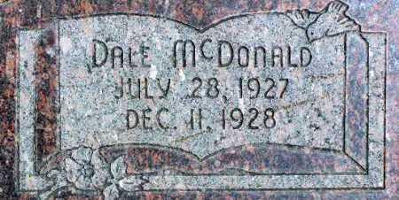 MCDONALD, DALE - Wasatch County, Utah   DALE MCDONALD - Utah Gravestone Photos