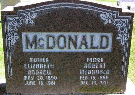 MCDONALD, ROBERT - Wasatch County, Utah | ROBERT MCDONALD - Utah Gravestone Photos
