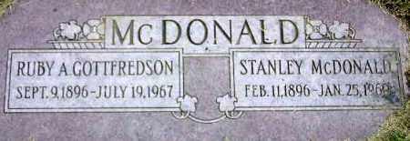 MCDONALD, STANLEY - Wasatch County, Utah | STANLEY MCDONALD - Utah Gravestone Photos
