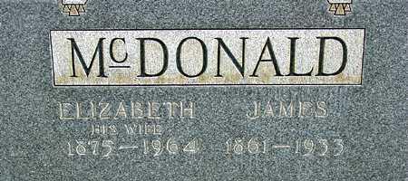 MCDONALD, ELIZABETH - Wasatch County, Utah | ELIZABETH MCDONALD - Utah Gravestone Photos