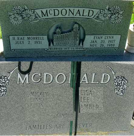 MCDONALD, HILDA RAE - Wasatch County, Utah | HILDA RAE MCDONALD - Utah Gravestone Photos