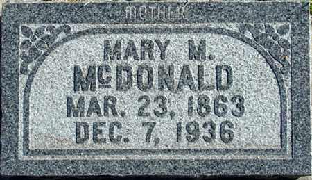 MCDONALD, MARY MALINDA - Wasatch County, Utah | MARY MALINDA MCDONALD - Utah Gravestone Photos