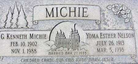 MICHIE, GEORGE KENNETH - Wasatch County, Utah | GEORGE KENNETH MICHIE - Utah Gravestone Photos