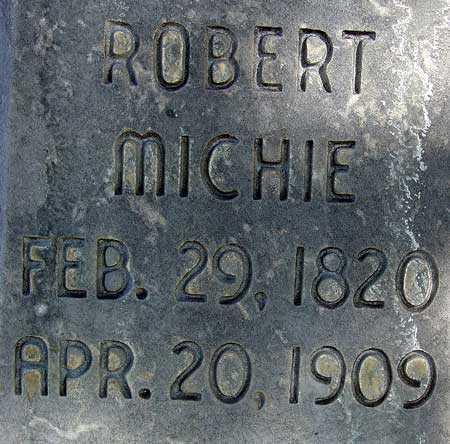 MICHIE, ROBERT - Wasatch County, Utah | ROBERT MICHIE - Utah Gravestone Photos