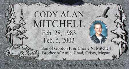 MITCHELL, CODY ALAN - Wasatch County, Utah | CODY ALAN MITCHELL - Utah Gravestone Photos