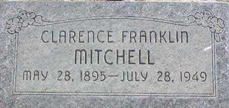 MITCHELL, CLARENCE FRANKLIN - Wasatch County, Utah   CLARENCE FRANKLIN MITCHELL - Utah Gravestone Photos