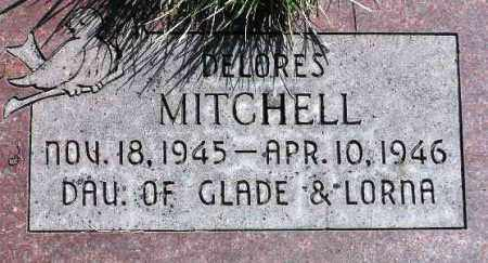 MITCHELL, DELORES - Wasatch County, Utah | DELORES MITCHELL - Utah Gravestone Photos