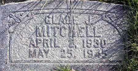 MITCHELL, GLADE JOSEPH - Wasatch County, Utah   GLADE JOSEPH MITCHELL - Utah Gravestone Photos