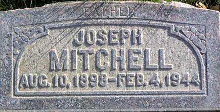 MITCHELL, JOSEPH - Wasatch County, Utah | JOSEPH MITCHELL - Utah Gravestone Photos