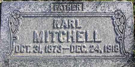 MITCHELL, KARL - Wasatch County, Utah | KARL MITCHELL - Utah Gravestone Photos