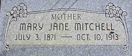 MITCHELL, MARY JANE - Wasatch County, Utah | MARY JANE MITCHELL - Utah Gravestone Photos