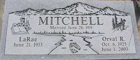 MITCHELL, ORVAL ROBERT - Wasatch County, Utah | ORVAL ROBERT MITCHELL - Utah Gravestone Photos