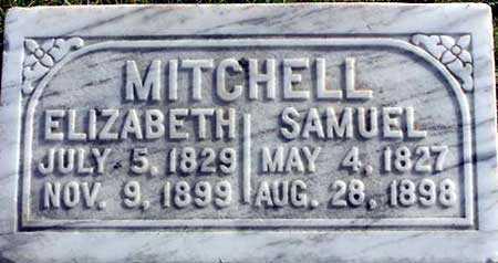 MITCHELL, ELIZABETH - Wasatch County, Utah | ELIZABETH MITCHELL - Utah Gravestone Photos