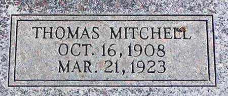 MITCHELL, THOMAS - Wasatch County, Utah   THOMAS MITCHELL - Utah Gravestone Photos