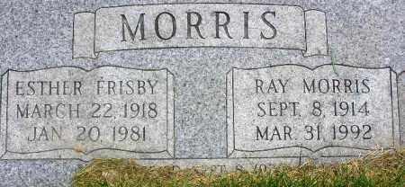 MORRIS, ESTHER FAY - Wasatch County, Utah | ESTHER FAY MORRIS - Utah Gravestone Photos