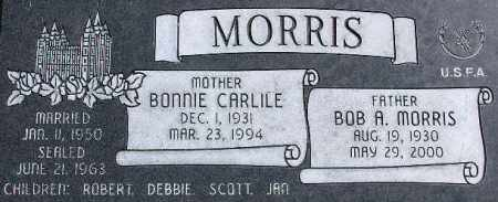 MORRIS, BONNIE - Wasatch County, Utah   BONNIE MORRIS - Utah Gravestone Photos