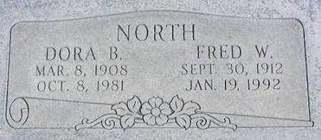 BRONSON NORTH, DORA - Wasatch County, Utah | DORA BRONSON NORTH - Utah Gravestone Photos