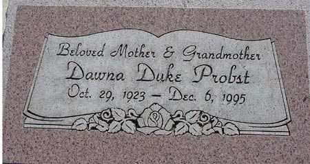 PROBST, DAWNA REVEA - Wasatch County, Utah | DAWNA REVEA PROBST - Utah Gravestone Photos
