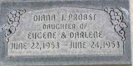 PROBST, DIANA JEAN - Wasatch County, Utah | DIANA JEAN PROBST - Utah Gravestone Photos