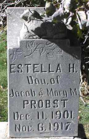 PROBST, ESTELLA HUBER - Wasatch County, Utah | ESTELLA HUBER PROBST - Utah Gravestone Photos