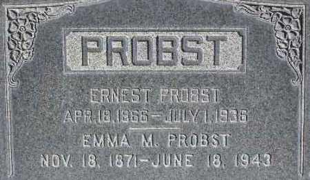 PROBST, EMMA MARIE - Wasatch County, Utah | EMMA MARIE PROBST - Utah Gravestone Photos