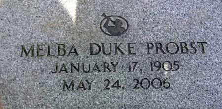 "PROBST, ELMA ""MELBA"" - Wasatch County, Utah | ELMA ""MELBA"" PROBST - Utah Gravestone Photos"