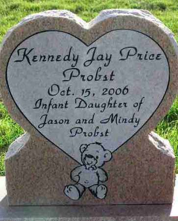 PROBST, KENNEDY JAY PRICE - Wasatch County, Utah   KENNEDY JAY PRICE PROBST - Utah Gravestone Photos