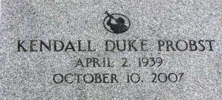 PROBST, KENDALL DUKE - Wasatch County, Utah | KENDALL DUKE PROBST - Utah Gravestone Photos