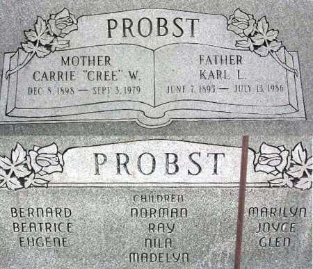 PROBST, KARL LORENZO - Wasatch County, Utah   KARL LORENZO PROBST - Utah Gravestone Photos