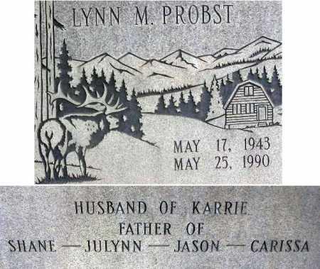 PROBST, LYNN M. - Wasatch County, Utah   LYNN M. PROBST - Utah Gravestone Photos
