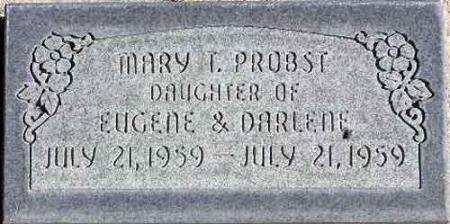 PROBST, MARY TURNBOW - Wasatch County, Utah   MARY TURNBOW PROBST - Utah Gravestone Photos