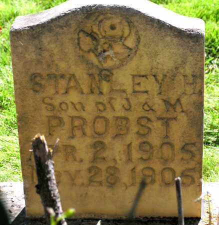 PROBST, STANLEY HUBER - Wasatch County, Utah | STANLEY HUBER PROBST - Utah Gravestone Photos