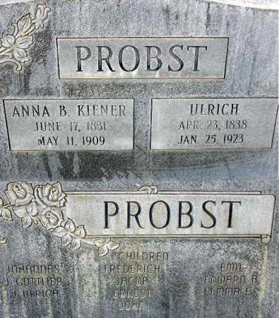 PROBST, ULRICH - Wasatch County, Utah | ULRICH PROBST - Utah Gravestone Photos