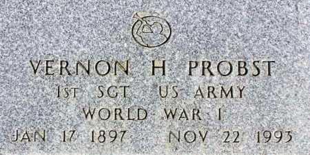 PROBST, VERNON HUBER - Wasatch County, Utah   VERNON HUBER PROBST - Utah Gravestone Photos