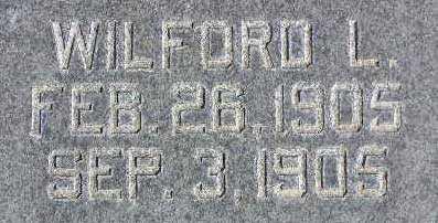 PROBST, WILFORD LEROY - Wasatch County, Utah | WILFORD LEROY PROBST - Utah Gravestone Photos